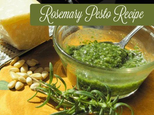 rosemary pesto